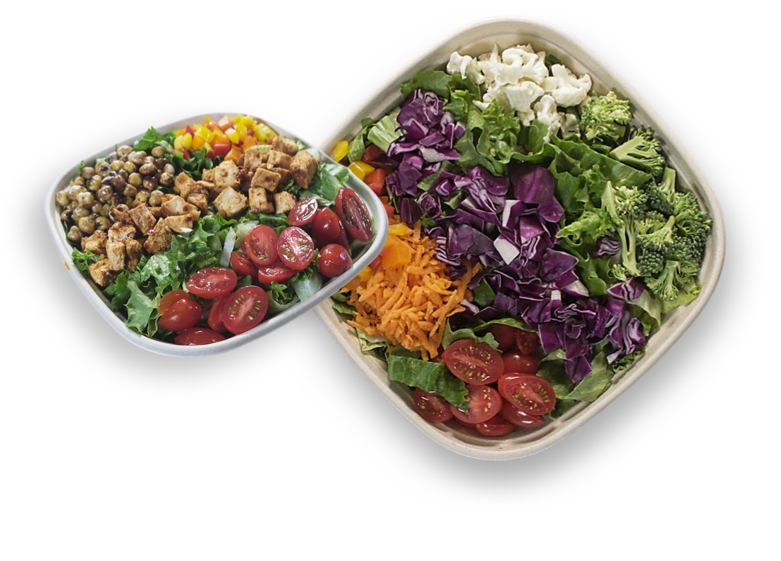 Double Salad Header